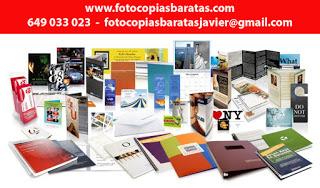 OFERTA FOTOCOPIAS BARATAS